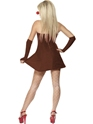 Adult Red Hot Reindeer Costume  - Side View - Thumbnail