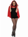 Adult Red Riding Hood Cape  - Back View - Thumbnail