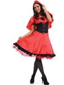 Adult Red Riding Hood Costume  - Back View - Thumbnail