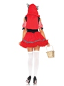 Adult Red Riding Wolf Costume  - Back View - Thumbnail