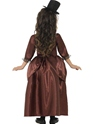 Child Red Vampiress Costume  - Back View - Thumbnail