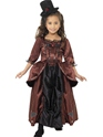Red Vampiress Childrens Costume