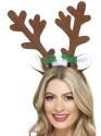 Reindeer Antlers Headband Thumbnail