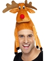 Reindeer Hat  - Back View - Thumbnail