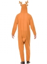 Reindeer Onesie Costume  - Side View - Thumbnail