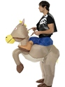 Adult Ride 'Em Cowboy Costume  - Back View - Thumbnail