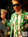 Adult Poker Face Oppo Suit  - Back View - Thumbnail