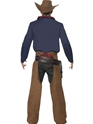 Adult Rodeo Cowboy Costume  - Side View - Thumbnail