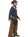 Adult Rodeo Cowboy Costume  - Back View - Thumbnail