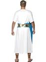 Adult Roman Senator Costume  - Back View - Thumbnail