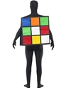 Adult Rubik's Cube Costume  - Side View - Thumbnail