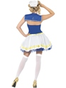 Adult Sailor Girl Costume  - Side View - Thumbnail