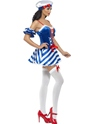 Adult Sailor Sweetie Costume  - Side View - Thumbnail