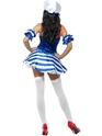 Adult Sailor Sweetie Costume  - Back View - Thumbnail