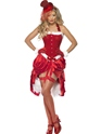 Adult Santa Baby Burlesque Costume Thumbnail