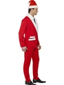 Adult Santa Cool Costume  - Back View - Thumbnail