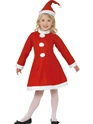 Child Santa Girl Costume Thumbnail