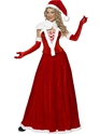 Adult Santa Long Skirt Costume Thumbnail