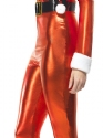 Adult Santa Miss Whiplash Costume  - Back View - Thumbnail