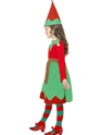 Child Santa's Little Helper Elf Costume  - Back View - Thumbnail