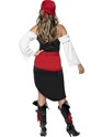 Adult Sassy Pirate Wench Costume  - Side View - Thumbnail