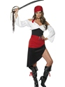 Adult Sassy Pirate Wench Costume Thumbnail