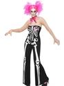 Adult Sassy Skeleton Costume Thumbnail