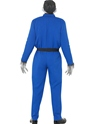 Adult Odd Bod Carry on Screaming Monster Costume  - Side View - Thumbnail