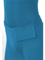 Adult Blue Second Skin Suit Costume  - Side View - Thumbnail