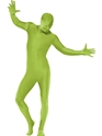 Adult Green Second Skin Suit Costume Thumbnail