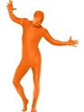 Adult Orange Second Skin Suit Costume Thumbnail