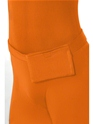 Adult Orange Second Skin Suit Costume  - Side View - Thumbnail