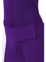 Adult Purple Second Skin Suit Costume  - Side View - Thumbnail