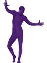 Adult Purple Second Skin Suit Costume Thumbnail