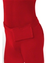 Adult Red Second Skin Suit Costume  - Side View - Thumbnail