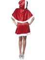 Adult Secret Santa Costume  - Side View - Thumbnail
