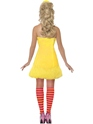 Sesame Street Big Bird Ladies Costume  - Back View - Thumbnail