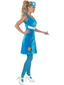 Adult Sesame Street Cookie Monster Costume  - Side View - Thumbnail