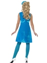 Adult Sesame Street Cookie Monster Costume  - Back View - Thumbnail