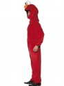 Adult Sesame Street Elmo Costume  - Back View - Thumbnail