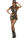 Adult Sexy Army Girl Costume Thumbnail