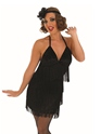 Adult Sexy Black Flapper Costume Thumbnail