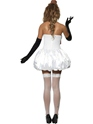 Adult Sexy Snowman Costume  - Side View - Thumbnail