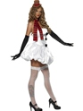 Adult Sexy Snowman Costume  - Back View - Thumbnail