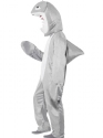 Adult Shark Costume  - Back View - Thumbnail
