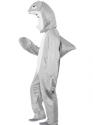 Adult Shark Costume  - Back View - Thumbnail