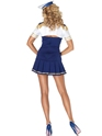 Adult Ship Shape Captain Sailor Costume  - Back View - Thumbnail
