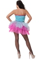 Silky Smooth Burlesque Showgirl Costume  - Back View - Thumbnail