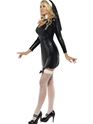 Adult Sister Bliss Nun Costume  - Side View - Thumbnail