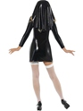 Adult Sister Bliss Nun Costume  - Back View - Thumbnail